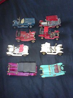 8 Lesney Matchbox Raf Crossley Thomas Flyabout Maxwell Roadster Opel Coupe ++ - http://www.matchbox-lesney.com/41559