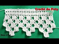 Spiral Crochet, Filet Crochet, Half Double Crochet, Easy Crochet, Crochet Lace, Crochet Designs, Crochet Patterns, Braided Scarf, Crochet Borders
