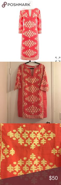"J.Crew Linen Dress Size 6 100% linen. Lining is 100% cotton. Length: 35"". NO TRADES/PAYPAL. J. Crew Dresses"