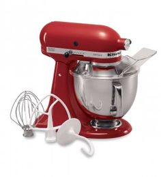 Shop KitchenAid Artisan Series Tilt-Head Stand Mixer - Empire Red at Your Navy Exchange. You Serve, You Save on the best brands and products in Stand Mixers. Kitchenaid Artisan Stand Mixer, Artisan Mixer, Kitchen Gourmet, Kitchen Aid Recipes, Kitchen Aid Artisan, Kitchen Aid Mixer, Kitchen Aide, Small Kitchen Appliances, Kitchen Gadgets