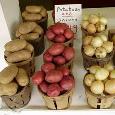 How To Be Organized: Storing Garlic And Potatoes, Onions And Tomatoes