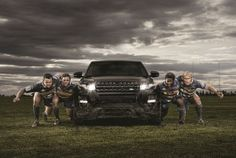 WP Rugby Team Land Rover Car Show, Rugby, Landing, Monster Trucks, Rugby Sport, Football