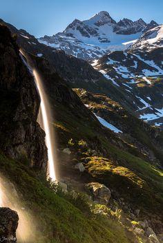 Natural Lightshow, Swiss Alps, Switzerland, by Jan Geerk, on 500px.