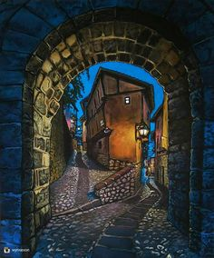 Sensational work from @wynsexon follow their page for more great art. 'My #Painting of #Albarracin in #Medieval #Spain with Lo-Fi filter which adds an effective glow' #Art #Artwork #Acrylicsoncanvas #illustration #picture #artist #sketch #sketchbook #paper #pen #pencil #artsy #instaart #beautiful #instagood #gallery #masterpiece #creative #photooftheday #instaartist #graphic #graphics #artoftheday