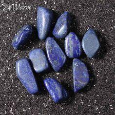 6616dfbb89b US $2.38 15% OFF|KiWarm 10Pcs On Sale Blue Sodalite Stone Tumbled Stones  Healing Crystals Gemstone Gem Reiki Beads Decoration 1.8cm 3cm Wholesale-in  Stones ...