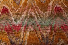 Luxury Italian flame stitch fabric Bargello Bergamo | Etsy Bungalow Decor, Bargello Patterns, Chevron Fabric, Renaissance Era, Embroidery Techniques, Autumnal, Designer Wallpaper, Earthy, Stitch Patterns