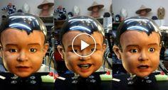 O Robô Com a Cara De Bebé Mais Realista e Assustadora De Sempre! http://www.desconcertante.com/o-robo-com-cara-de-bebe-mais-realista-e-assustadora-de-sempre/