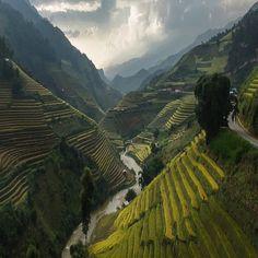 Mu Cang Chai, Vietnam, photography by @jakkreethampitakkull
