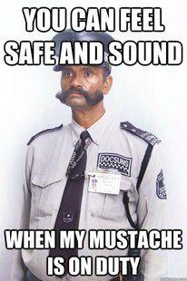 Guardsman Mustache meme   quickmeme