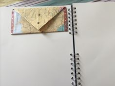 Hide memories or inspirational quotes in handmade envelopes