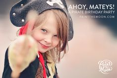 Pirate Themed Photo Session • Kid's Pirate Birthday Party