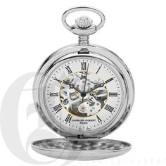 Double Demi Hunter Case Mechanical Pocket Watch Availability: Call 800-221-1881  $134.95 Add to Compare Quick Overview  Charles-Hubert, Paris #3564