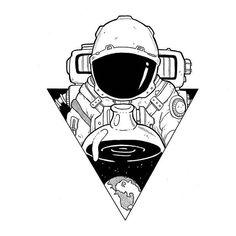 New Doodle Art Ideas Design Sketch Ideas Space Drawings, Tattoo Design Drawings, Tattoo Sketches, Drawing Sketches, Art Drawings, Drawing Ideas, Doodle Sketch, Tattoo Designs, Design Tattoos