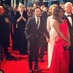 @The_Upcoming #EEBAFTAs fresh from the stage, starring in The Ruling Class, James McAvoy arrives on the red carpet