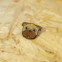 #Repost @i_am_v52  Did someone say cute as hell pug pins? Good because I've got them in stock!!! The link for this cute little puggo is on my insta bio so get one while they last. (http://ift.tt/2k8qb5V) . . #pug #puggo #dog #pets #pets_of_instagram #pins #enamelpin #iamv52 #badges #illustration #cute #pinbadge #rad    (Posted by https://bbllowwnn.com/) Tap the photo for purchase info.  Follow @bbllowwnn on Instagram for great pins patches and more!