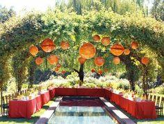 Paper lanterns  Event by Sasha Souza