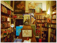 Roma, Libreria del viaggiatore, interno.