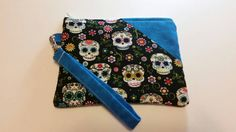 Check out this item in my Etsy shop https://www.etsy.com/listing/257194171/flowers-and-skulls-what-a-pair-on-this