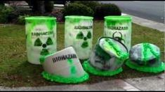 Bio-Hazard containers