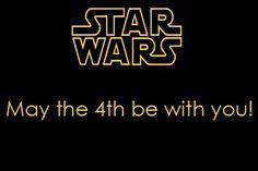 """""""May the forth be with you"""" - Da un gioco di parole è nato lo Star Wars Day, che si celebra il 4 maggio in tutto il mondo. Che la forza sia con voi! #StarWarsDay"""