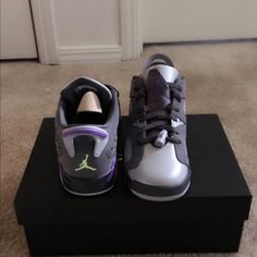 Jordan retro 6 Low top shoes brand new never worn just don't like them anymore size 5 Jordan Shoes Sneakers