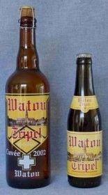 Cerveja Watou Tripel, estilo Belgian Tripel, produzida por St. Bernard Brouwerij , Bélgica. 7.5% ABV de álcool.