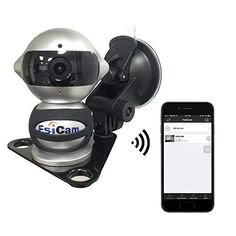 EsiCam Robot Wireless Camera for Smart Phone HD Two Way Audio Night Vision Alarm Recording with Magnetic Mount Suction Cup Used For Dash Cam Vehicle Backup RV Trailer Home Security Baby MonitorEC07 * You can get more details by clicking on the image.Note:It is affiliate link to Amazon.