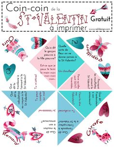What can be better than jokes to get a boy interested in Valentine's day? This free Valentine Cootie Catcher Printable is sure to do the trick! Here's an easy way to treat your kids on Valentine's day without adding any… Valentines Day Jokes, Kinder Valentines, Valentine Day Crafts, Saint Valentine, Valentine Nails, Valentine Ideas, Christmas Jokes For Kids, Funny Christmas Jokes, Christmas Humor