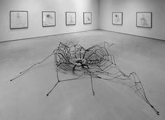 Mexican artist Carlos Amorales, Trasformable Web II, 2008