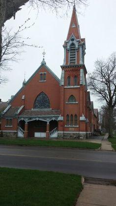 Methodist church in eaton rapids, mi