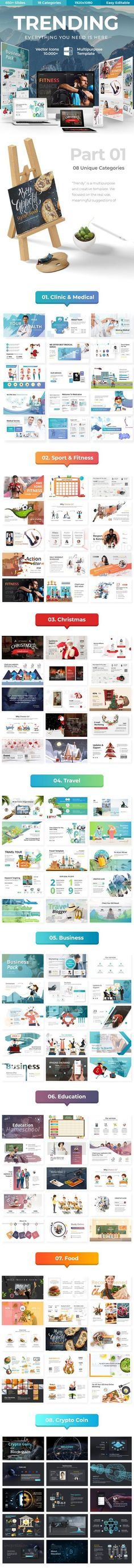 Buy Trending Multipurpose Powerpoint Template by ESTE_Studio on GraphicRiver. Features: unique slides Aspect Ratio no more broken images! Powerpoint Template Free, Creative Powerpoint Templates, Keynote Template, Basic Drawing, Drawing Skills, Presentation Design, Presentation Templates, Presentation Slides, What Is Fashion Designing
