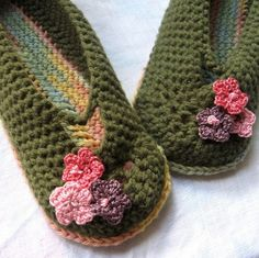 Crochet Pattern Womens Mary Jane Slippers With by kalliedesigns, $4.00