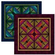 """FREE pattern: """"Butterfly Bush"""" by Jinny Beyer from RJR Fabrics"""
