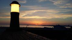 Coucher de soleil sur Royan par Virginie #PlagedelaGrandeConche