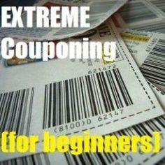Extreme couponing is a great way to be more frugal with your money, and helps both finances and connecting with your husband or wife if you recruit them. It is also relaxing.:
