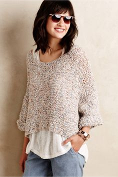 Cropped Confetti Top - anthropologie.com