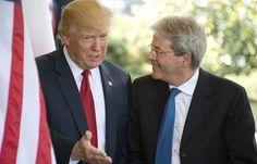 """Trump annuncia: """"L'Italia pagherà di più per la Nato"""""""