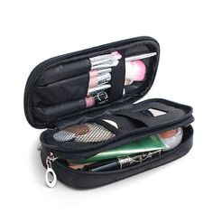 d37ad92454 Small Cosmetic Bags Makeup Bag Women Travel Toiletry Bag Professional  Storage Brush Organizer Necessaries Make Up Case Beauty