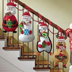 Christmas Pouch Pals Stocking - Imagine how thrilled your little ones will be to see their festive friends filled with Christmas treats just for them! Send Christmas Pouch Pals Stocking and other personalized gifts at Personal Creations. Decoration Christmas, Diy Christmas Ornaments, Xmas Decorations, Christmas Projects, Holiday Crafts, Holiday Decor, Christmas Sewing, Noel Christmas, Christmas Kitchen