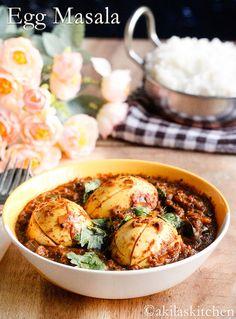 Spicy Egg Masala (tomato, onion)