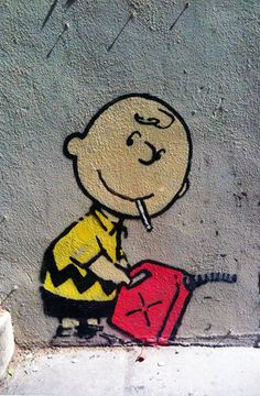 Charlie Brown by Banksy, Los Angeles Graffiti Art Charlie Brown durch Banksy, Los Angeles-Graffiti-Kunst Banksy Graffiti, Street Art Banksy, Arte Banksy, Graffiti Kunst, Banksy Canvas, Graffiti Tattoo, Bansky, Graffiti Artists, Urban Street Art