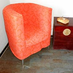 how to make diy upholstered tub chair