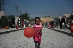 We loved having out with this little girl. She was full of joy and love! #LoveDoes #RestoreIraq
