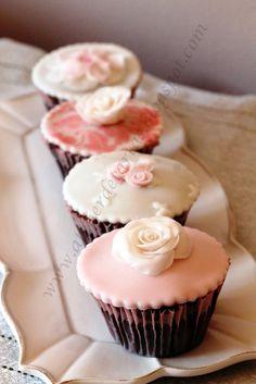 Cupcakes nupciales, wedding cupcakes