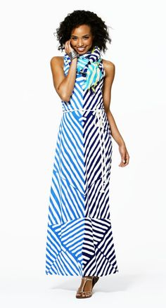 Go for a stripe-on-stripe combo thats as easy as it is cool.#Repin By:Pinterest++ for iPad#