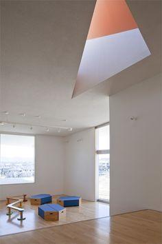 Matsuigaoka nursery school, #Matsuigaoka, 2010 by Koseki architects Office  #architecture #japan #interiors #school