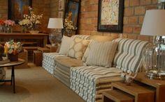 Sala aconchegante... ideia para futons modulares!