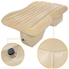 Inflatable Back Seat Mattress for Car with Air Pump