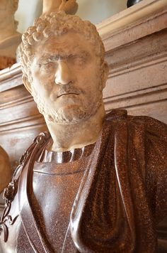 Bust of Caracalla, 211—217 AD, from Rome, Capitoline Museums | da Following Hadrian