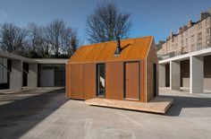 Dwell - Go Off-Grid in This Prefabricated Cor-Ten Steel Cabin